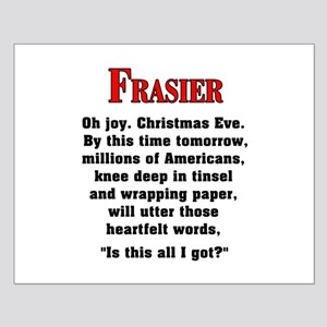 Frasier Christmas Quote Posters
