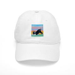 Boston Bull Terrier Baseball Cap