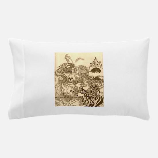 Woodland Woman Pillow Case