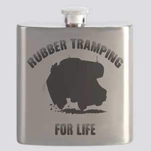 Rubber Tramp For Life Flask