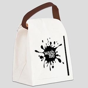 Wash Me Canvas Lunch Bag