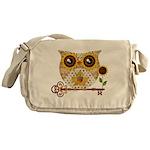 Owls Autumn Song Messenger Bag