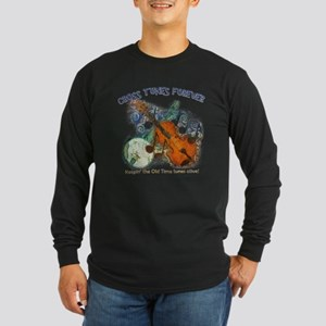 CROSS TUNES FOREVER Long Sleeve Dark T-Shirt