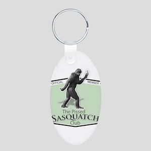 The Pissed Sasquatch Club Keychains