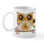 Owls Autumn Song Mugs