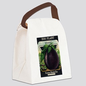 EGGPLANT - Large Purple Mulignani crnc Canvas Lunc