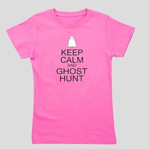 Keep Calm Ghost Hunt (Parody) Girl's Tee