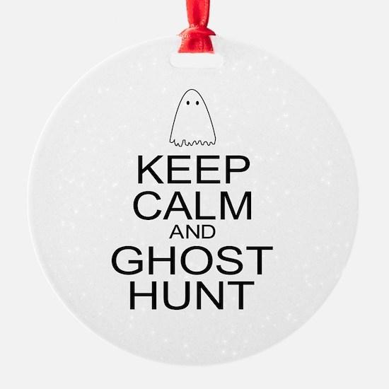 Keep Calm Ghost Hunt (Parody) Ornament