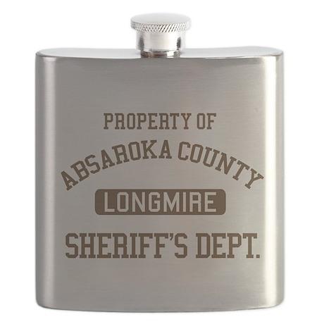 Property Of Absaroka County Flask