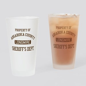 Property Of Absaroka County Drinking Glass