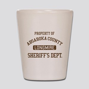 Property Of Absaroka County Shot Glass