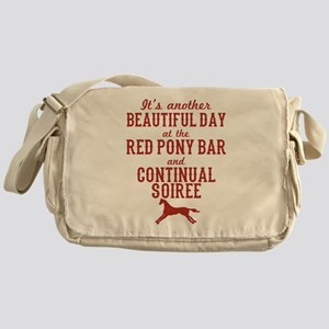 Longmire Red Pony Continual Soiree Messenger Bag