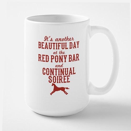 Longmire Red Pony Continual Soiree Mugs