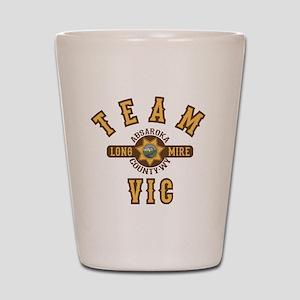 Longmire Team Vic Shot Glass