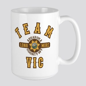 Longmire Team Vic Mugs