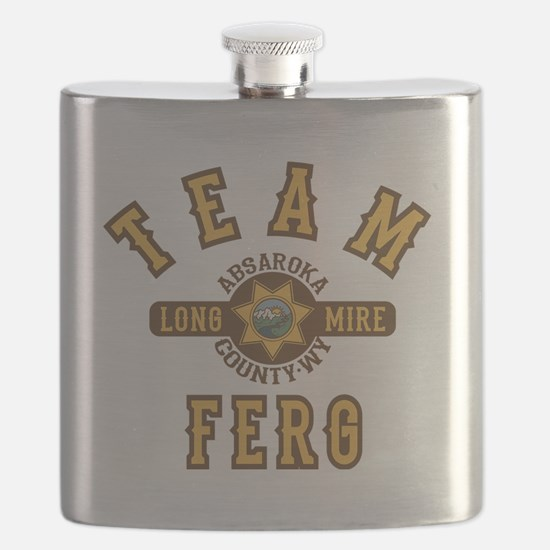 Longmire Team Ferg Flask