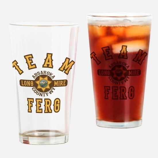 Longmire Team Ferg Drinking Glass