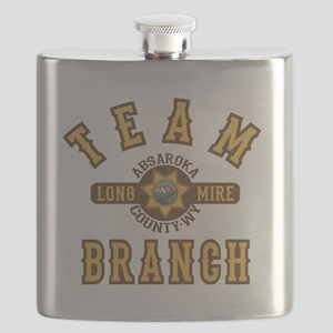 Longmire Team Branch Flask