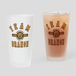 Longmire Team Branch Drinking Glass
