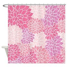 Vintage Floral Shower Curtain Shower Curtain