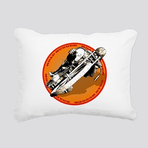 Road Hugger Motorcycle Rectangular Canvas Pillow