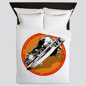 Road Hugger Motorcycle Queen Duvet