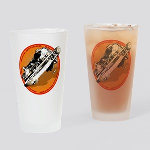 Road Hugger Motorcycle Drinking Glass