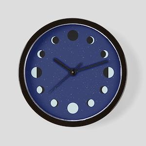 Moon Pases Wall Clock