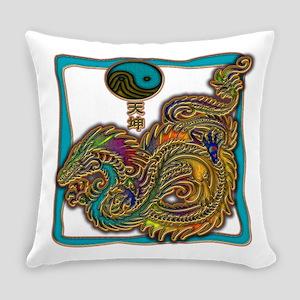 Sea Dragon Everyday Pillow
