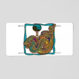 Sea Dragon Aluminum License Plate