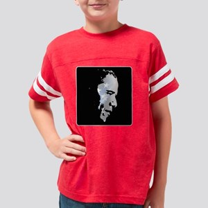 Obama StStripe 6black Youth Football Shirt