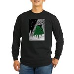Cthulhu Rising Long Sleeve Dark T-Shirt