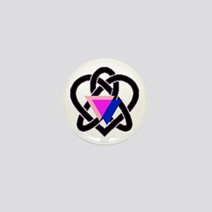 celtic heart Mini Button