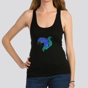 Hyacinth Macaw Racerback Tank Top