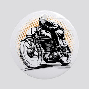 Classic Cafe Racer Ornament (Round)