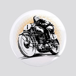 """Classic Cafe Racer 3.5"""" Button"""