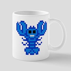 8 bit lobster blue 11 oz Ceramic Mug