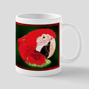 Greenwing Macaw Mug
