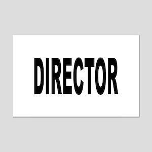 Director Mini Poster Print