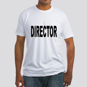 Director (Front) Fitted T-Shirt
