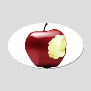 Think Different Apple bitten Decal Wall Sticker