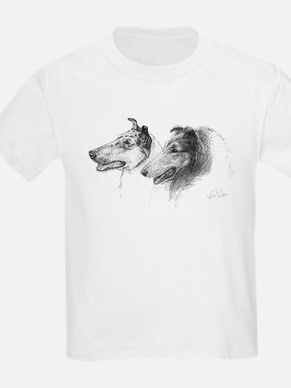 Rough & Smooth Collies Kids T-Shirt
