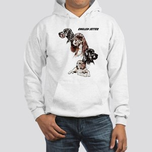 English Setter Hooded Sweatshirt