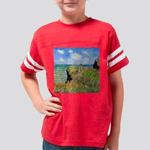 Clifftop Walk at Pourville Youth Football Shirt
