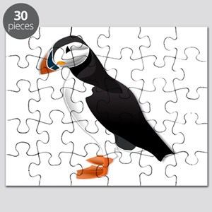 Atlantic Puffin Look forward to love Puzzle