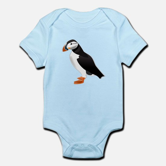 Atlantic Puffin Look forward to love Body Suit