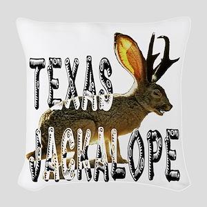 Jackolope7 Woven Throw Pillow