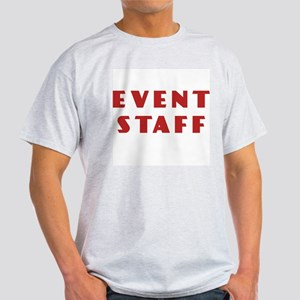 EVENT STAFF Ash Grey T-Shirt