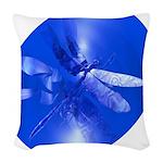 dragonfly11clk8 Woven Throw Pillow