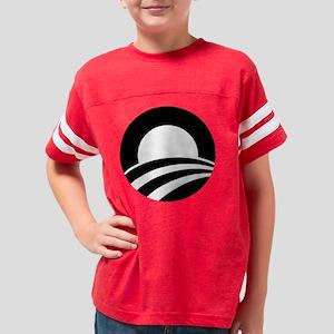 O black1 Youth Football Shirt